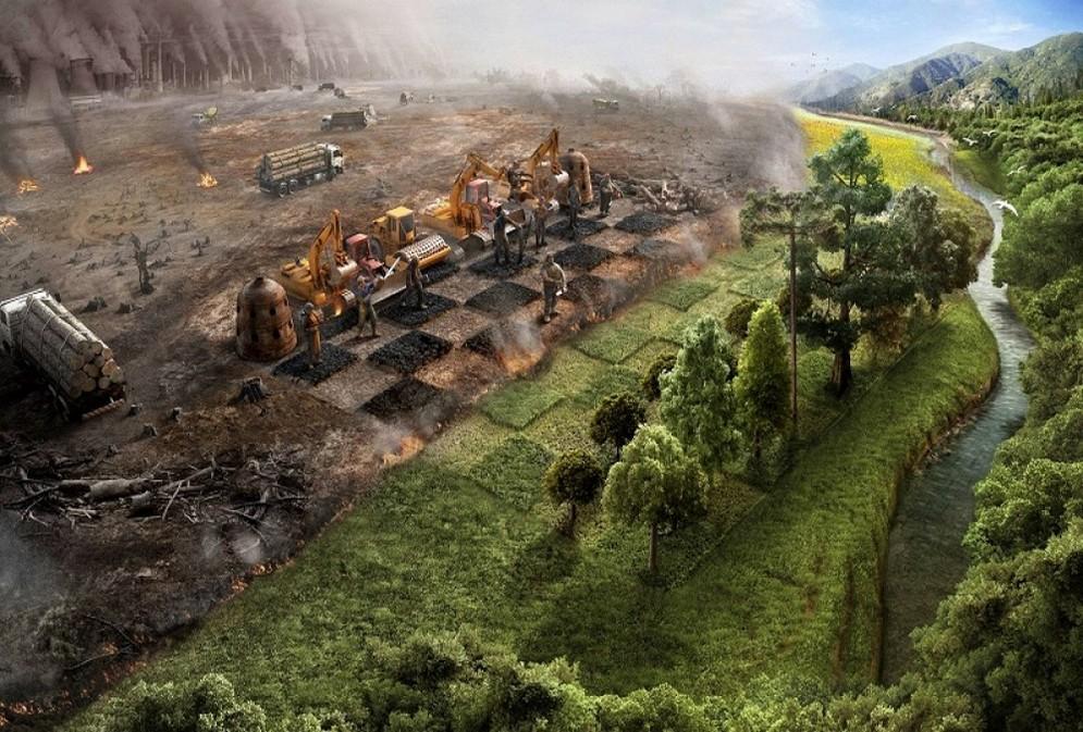 Ветер и ураганы — заслуга лесов, а не температуры!